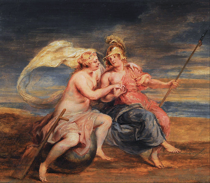 Peter Paul Rubens, Allegory of Fortuna and Virtus