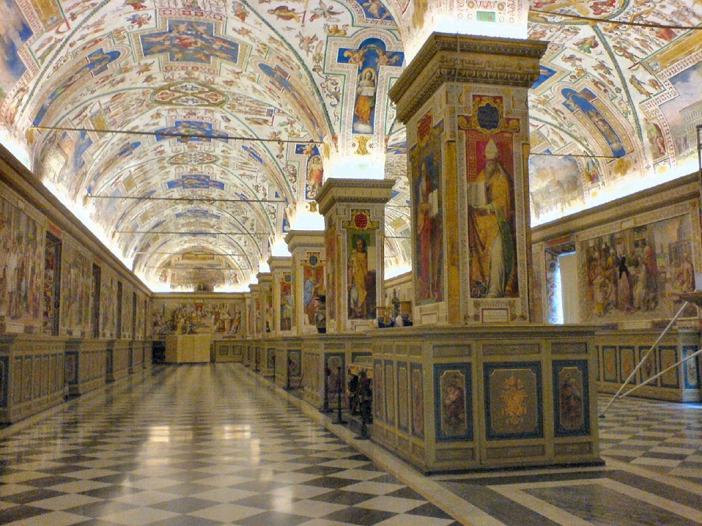 The Sistine Hall of the Vatican Library, Bartolomeo Platina