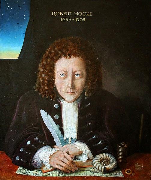 Robert Hooke Artist Impression: Rita Greer