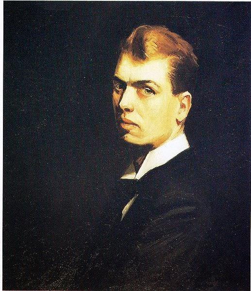 Edward Hopper, Selfportrait (1882 – 1967)