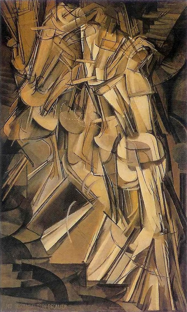 Marcel Duchamp: Nude Descending a Staircase (1912)