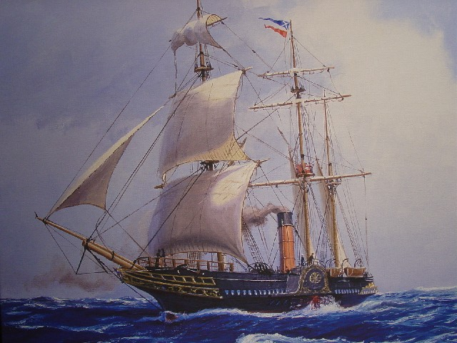 The seamship RMS Britannia
