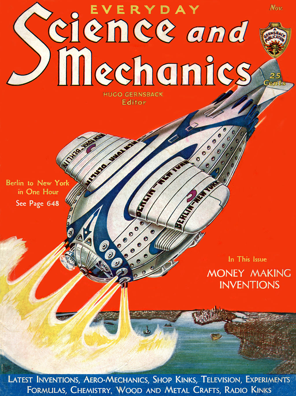 November 1931 issue of Everyday Science and Mechanics