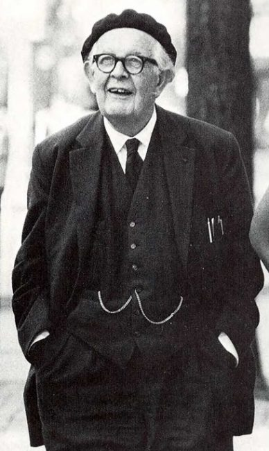Jean Piaget (1896-1980) photo: University of Michigan
