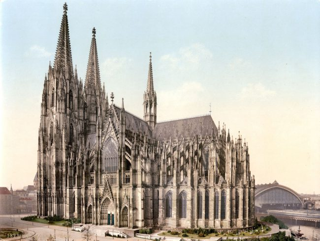 The Cologne Cathedral (at c. 1900)