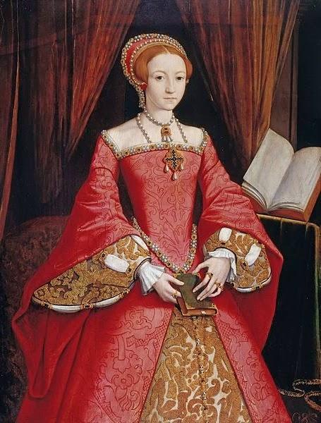 Queen Elizabeth I in younger years (1533 – 1603)