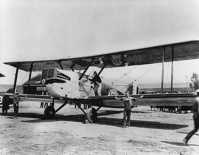 Aircraft Chicago at first aerial circumnavigation