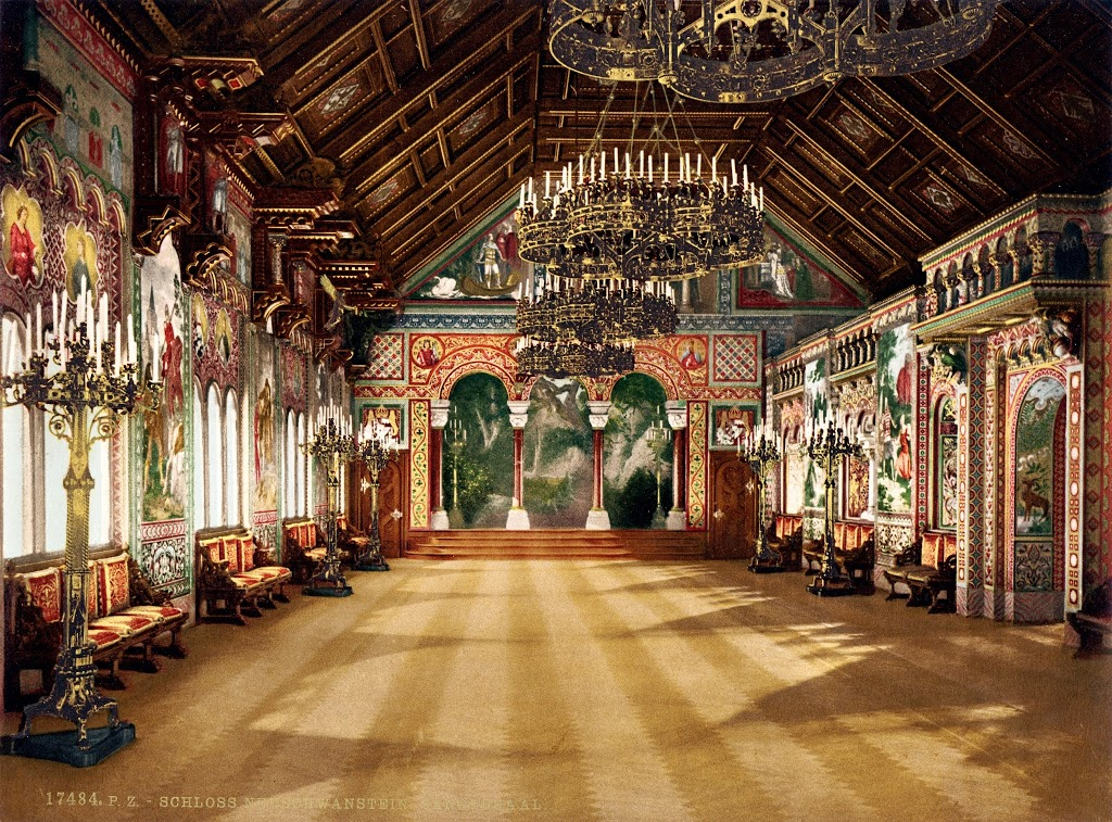 Sängerhalle (Singer's Hall) at Neuschwanstein