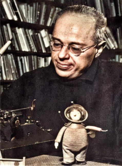 Stanislaw Lem (1921-2006) photo: Wojciech Zemek