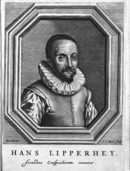 Hans Lippershey (1570 – 1619)