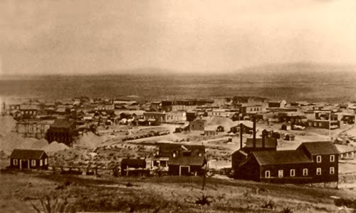 The city of Tombstone in 1881