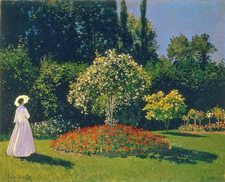 Woman in a Garden 1867