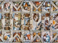 Michelangelo's Ceiling of the Sistine Chapel