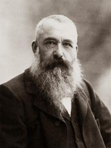 Claude Monet on a picture taken by Nadar in 1899.