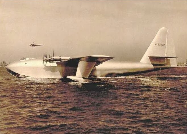 The Dream of the Largest Aircraft ever built - H-4 Hercules - SciHi Blog