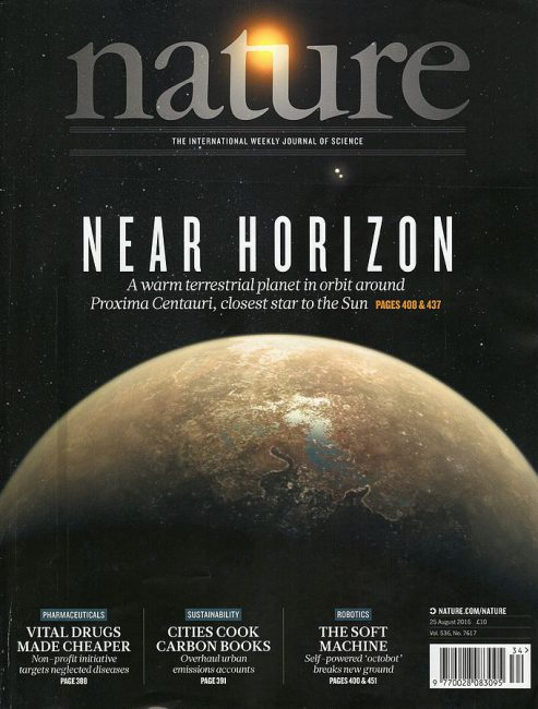 Cover page of the 7617th issue. Author: ESO/M. Kornmesser (photo displayed on the magazine cover)