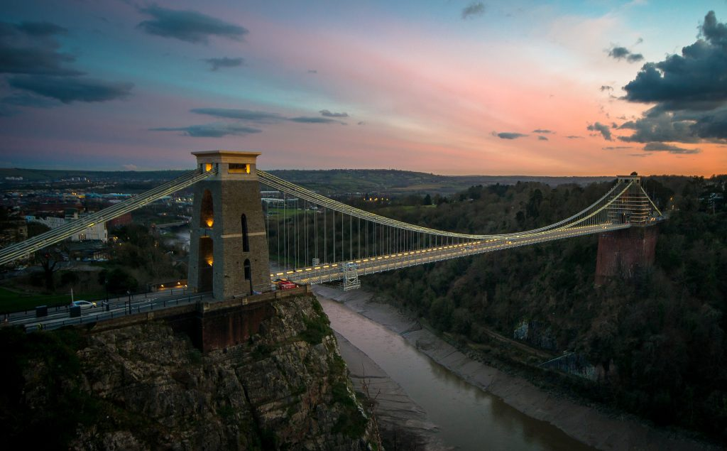Clifton Suspension Bridge, photo: Bs0u10e0 [CC BY-SA 2.0]
