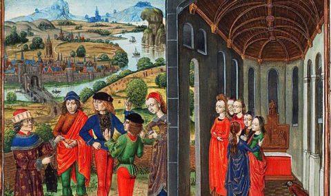 Giovanni Boccaccio and his Famous Decameron