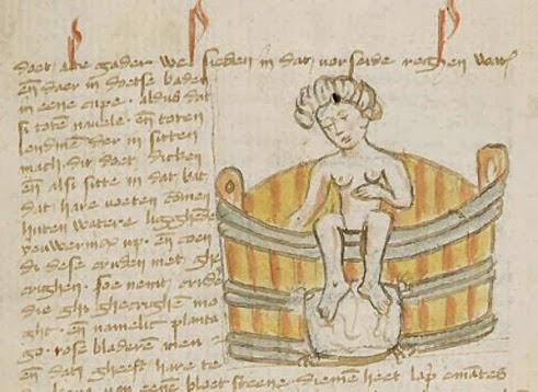 Illustration from De passionibus mulierum