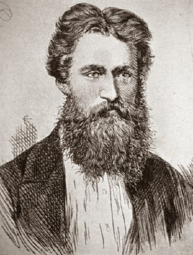 George Smith (1840-1876) from an engraving in The Illustrated London News, 1875