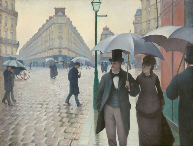 Gustave Caillebotte - Paris Street; Rainy Day, 1877
