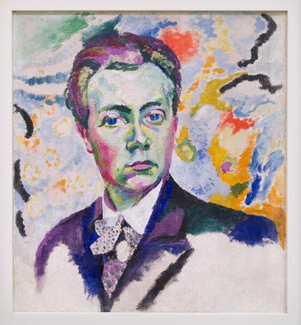 Robert Delaunay, 1905–06, Autoportrait, oil on canvas, 54 x 46 cm, Musée National d'Art Moderne, Paris
