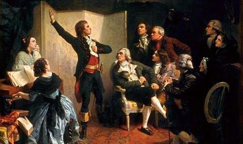 Claude Joseph Rouget de Lisle and the Marseillaise