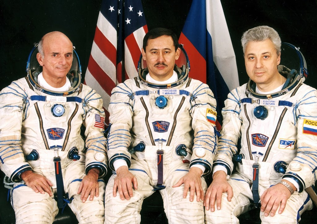 Dennis Tito, the very first Space Tourist