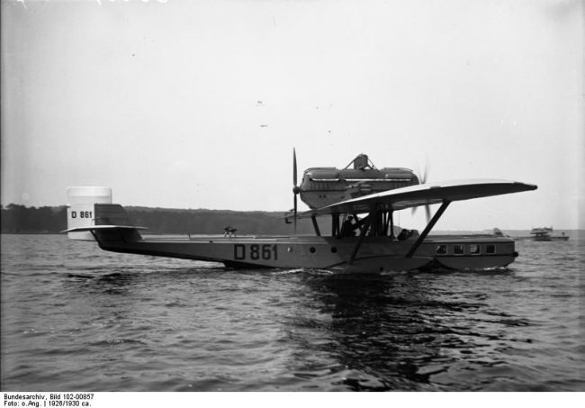 "Flugboot Dornier J ""Wal"", 1926, German Federal Archive"