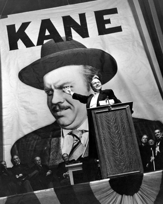 Promotional still for the 1941 film, Citizen Kane