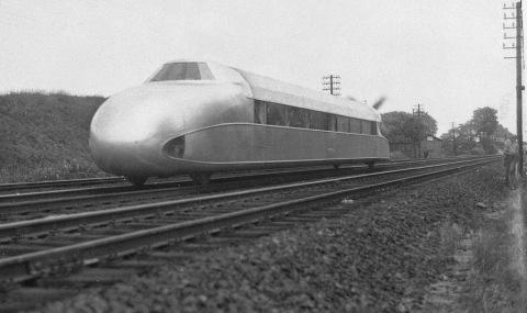 Mixing Up a Plane with a Train – Franz Kruckenberg's Schienenzeppelin
