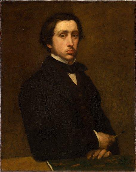 Edgar Degas Self Portait