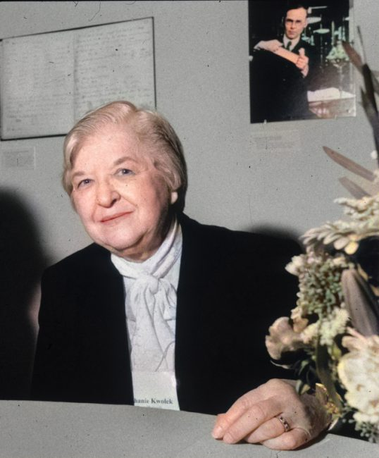 Stephanie Kwolek (1923 - 2014) Image: Chemical Heritage Foundation