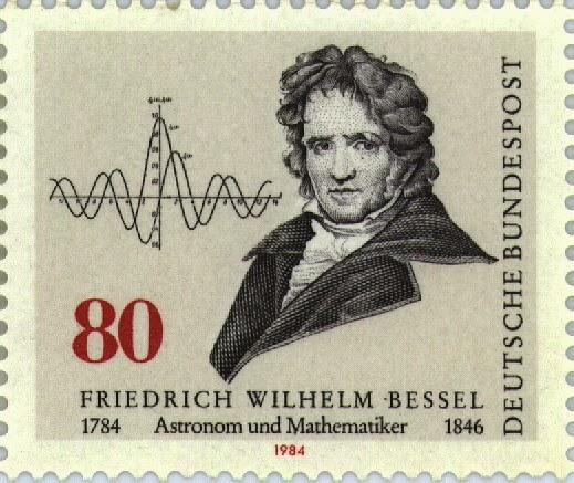 Friedrich Wilhelm Bessel (1784-1846) [1]