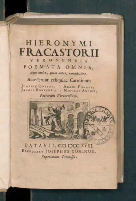 Hieronymi Fracastorii Poemata Omnia (1718)
