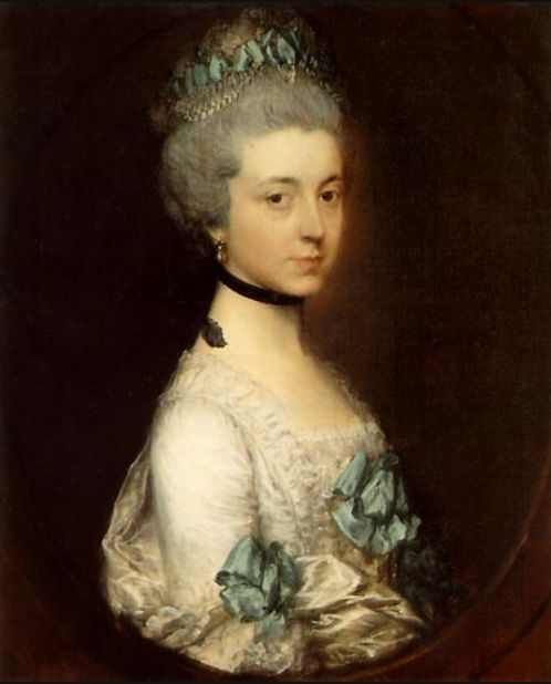 Lady Elizabeth Montagu, Duchess of Buccleuch and Queensberry (1718-1800) by Thomas Gainsborough
