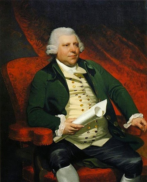 Portrait of Sir Richard Arkwright by Mather Brown
