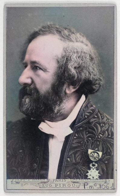 Hippolyte Fizeau (1819-1896) photo: Charles Reutlinger, Académie des Sciences, Smithsonian Institution Libraries