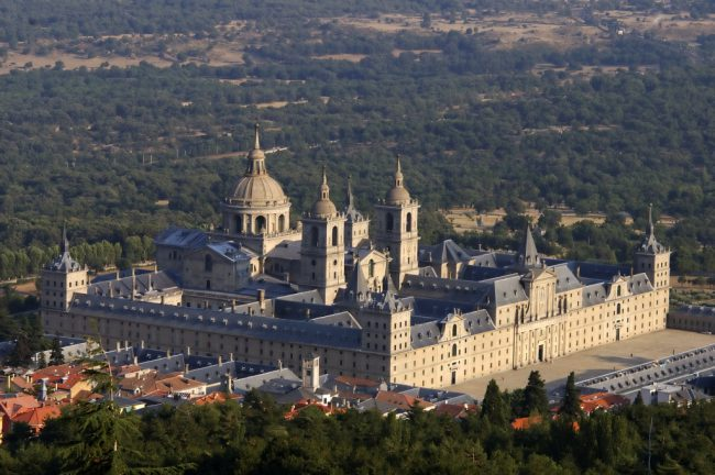 A distant view of the Royal Seat of San Lorenzo de El Escorial Image by Ecemaml