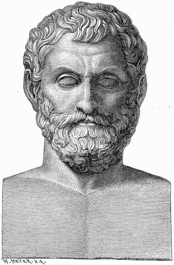 Illustration of (possibly) Thales of Miletus