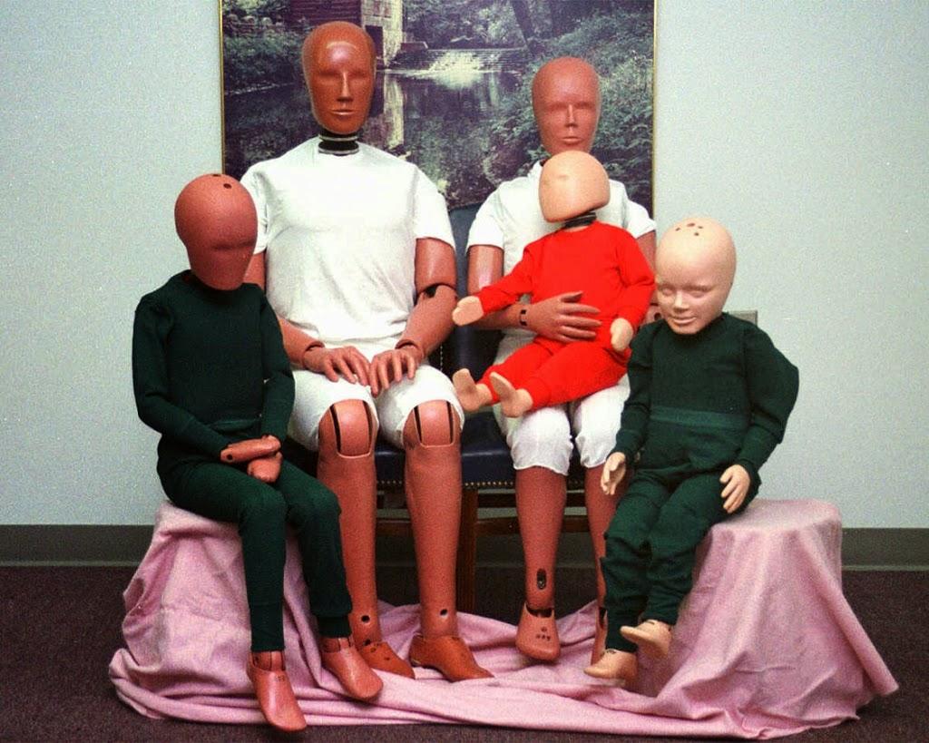 The Hybrid III crash test dummy family, Samuel Alderson