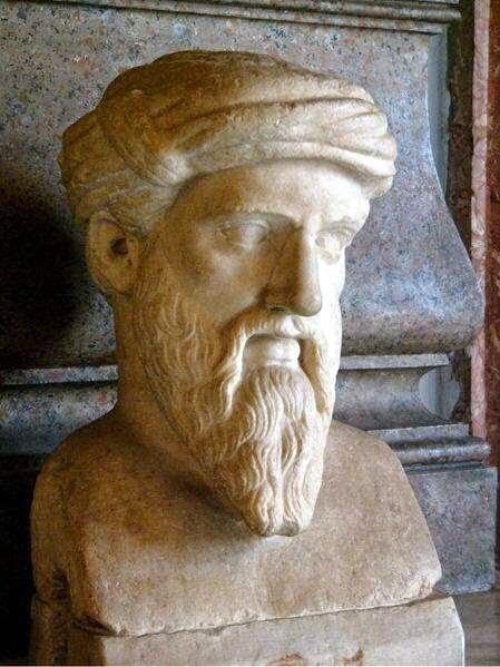 Bust of Pythagoras, Musei Capitolini, Roma