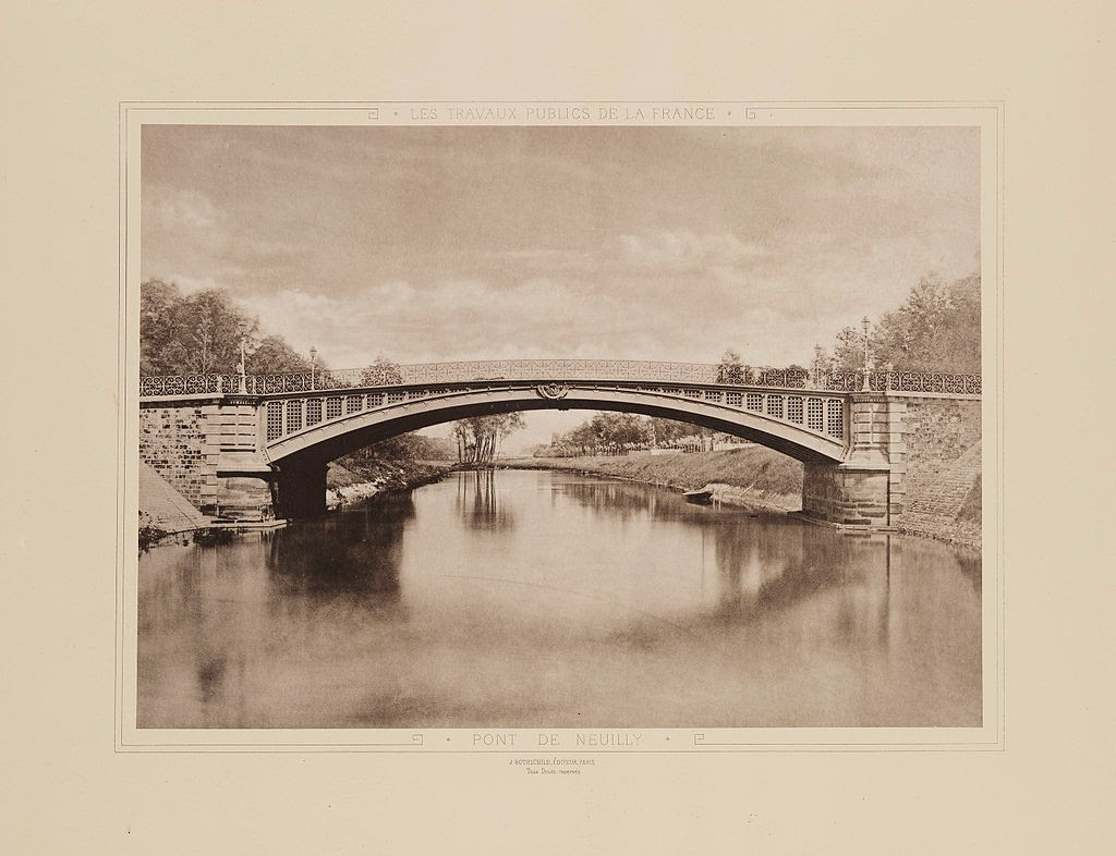 Pont de Neuilly, completed in 1794