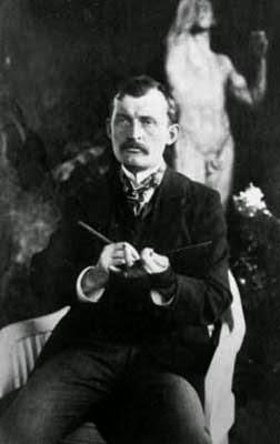 Edvard Munch in 1902