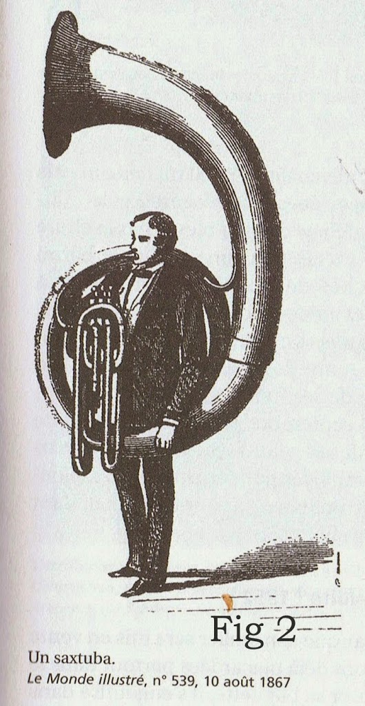 The Saxtuba, one of Adolphe Sax's instruments (1867)