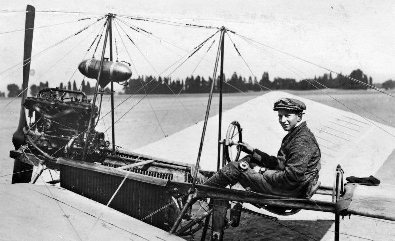 Fokker in de Spin
