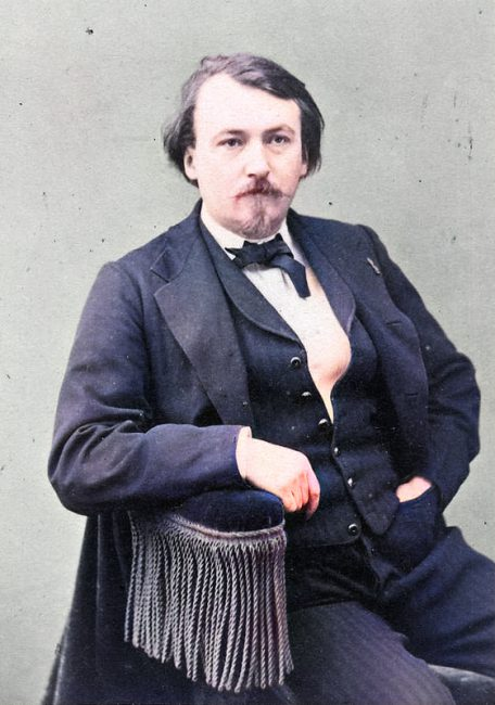 Gustave Doré (1832 - 1883), photography by Nadar