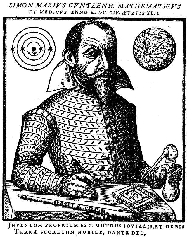 Simon Marius and his Astronomical Discoveries - SciHi Blog