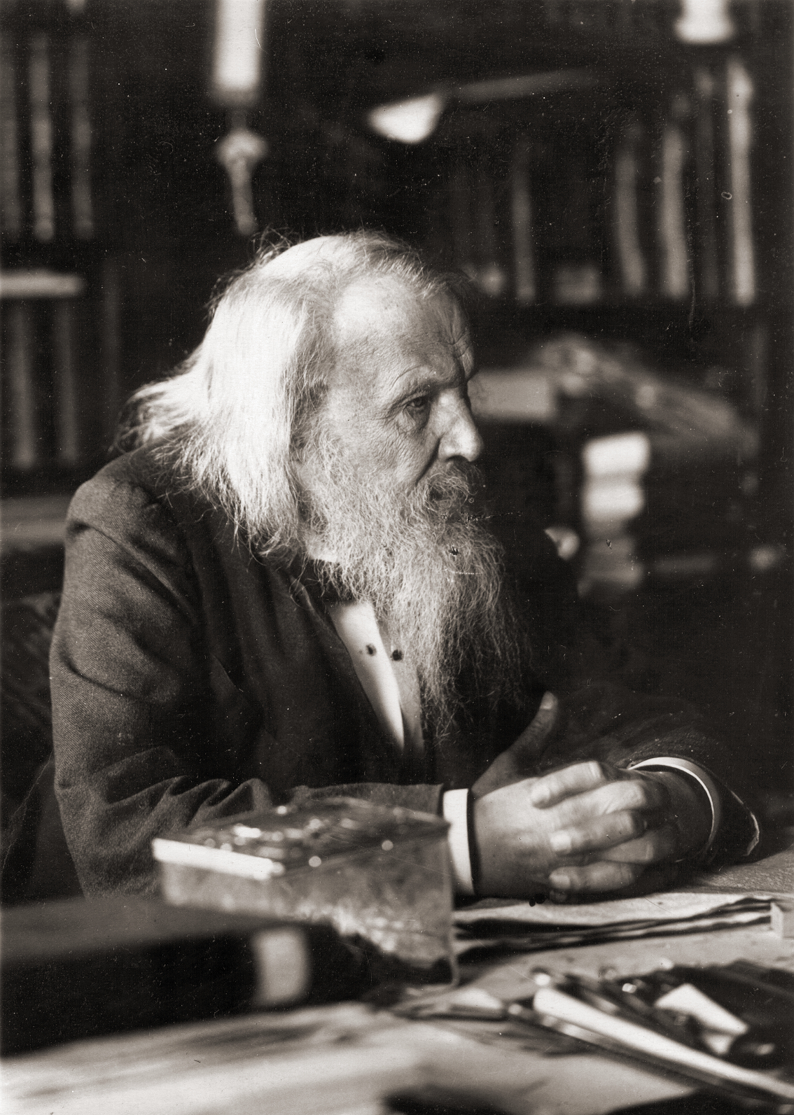 Dimitri Mendeleev And The Periodic Table Of Elements Scihi