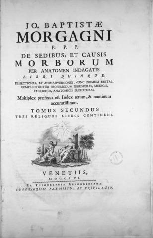 De sedibus, 1765, MOrgagni